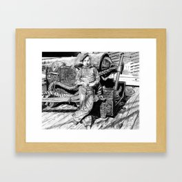 Powder Monkey Framed Art Print