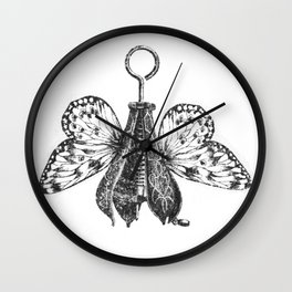 Pear Fly Wall Clock