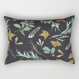 Boho vintage nature Rectangular Pillow
