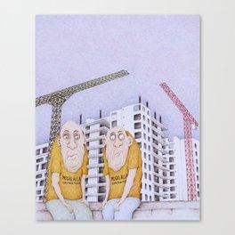Behemoths Canvas Print