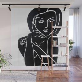 Vanity Girl -  POP ART PAINTING GIANT PRINTS Nude Wall Mural