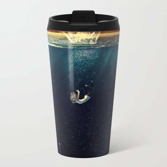 """Our Ends Are Beginnings"" - Limited Print Metal Travel Mug"