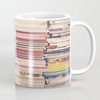 books Mugs featuring Books  by Caroline Mint