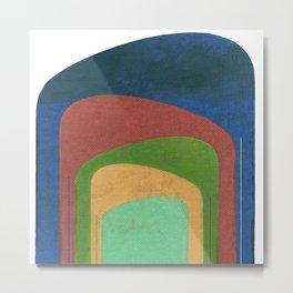 A Elephants Stack Metal Print