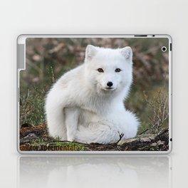 Polar Fox by Anne Elisabeth Laptop & iPad Skin