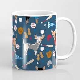Chihuahua sports fan dog athlete chihuahuas dog breed gifts pet friendly Coffee Mug