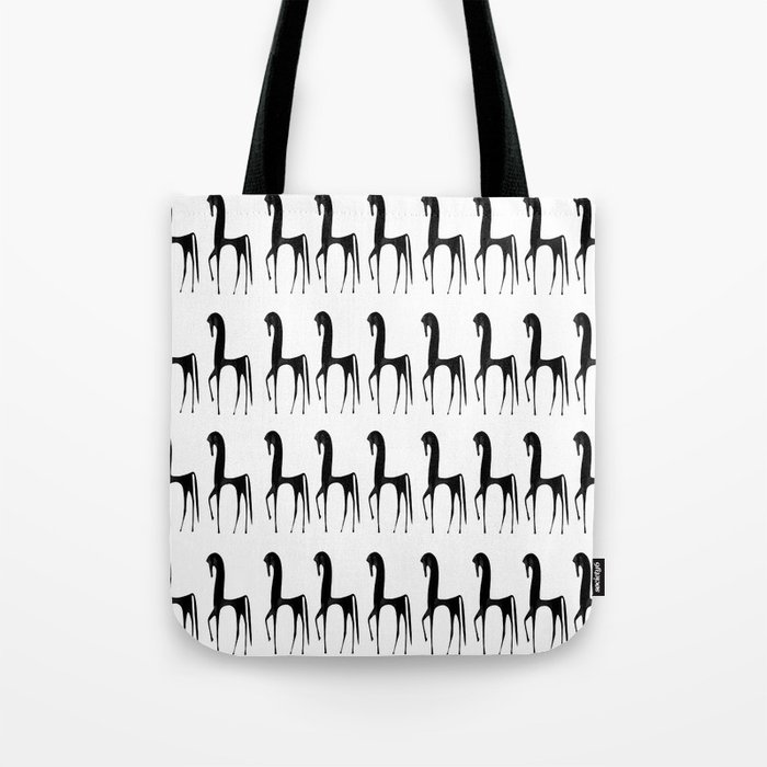 Black Horses #decor #society6 Tote Bag