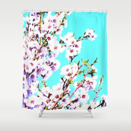 Sakura XIV Shower Curtain