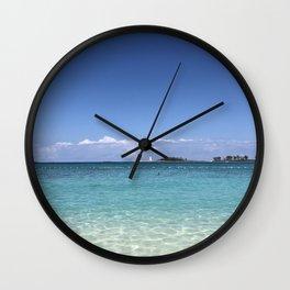 Junkanoo Beach, Bahamas Wall Clock