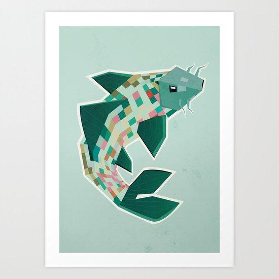 scalation Art Print