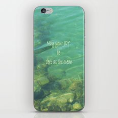 Ocean of Joy iPhone & iPod Skin