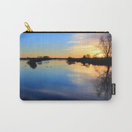 Floodplain at Sunset 1 Carry-All Pouch
