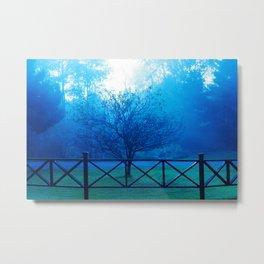 West Valley Tree Metal Print