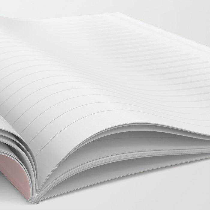 Blush Pinky Notebook