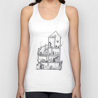 home sweet home Tank Tops featuring Home Sweet Home by Zorko