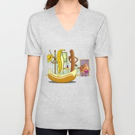 Unwelcome Guest Unisex V-Neck