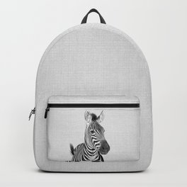 Zebra 2 - Black & White Backpack
