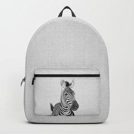Zebra 2 - Black & White Backpack