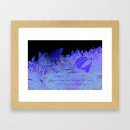1 Chron. 16:34 Framed Art Print