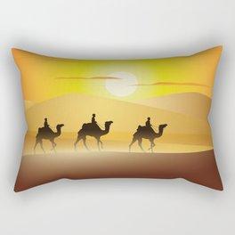 caravan Rectangular Pillow