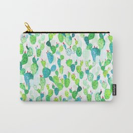 Watercolour Cacti Carry-All Pouch