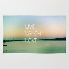 Live Laugh Love Rug