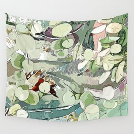 Summer Garden Memories Wall Tapestry