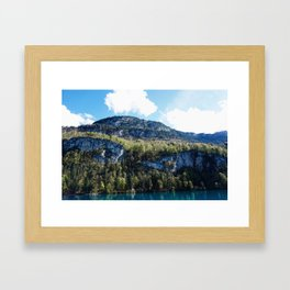 Yes, Actually. Framed Art Print