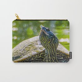 Turtle is the New Leopard Print Carry-All Pouch