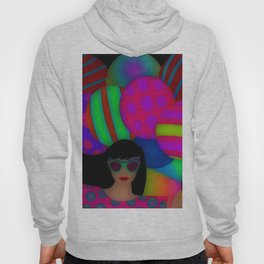 Fun With Coloring Balloons Electric Hoody