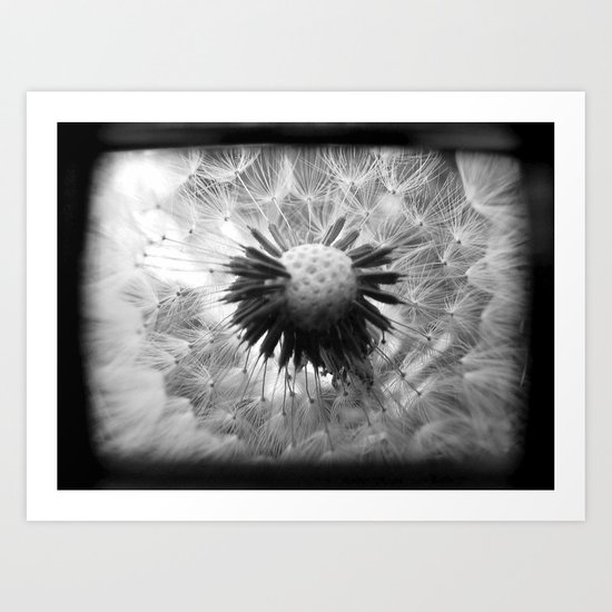 On the Inside - Through The Viewfinder (TTV) Art Print