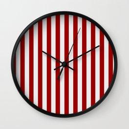 Indiana University IU Stripes Wall Clock
