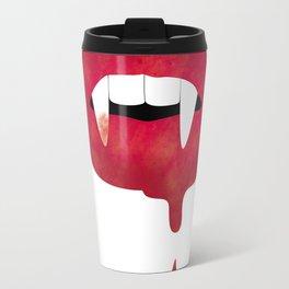 Halloween Vampire Mouth Travel Mug