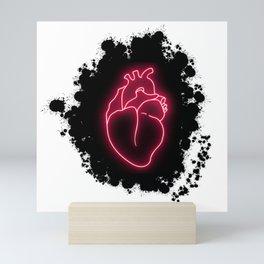 Heart light Mini Art Print