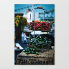 Cool Peppers Canvas Print