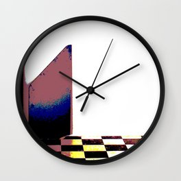 Two Towers Wall Clock