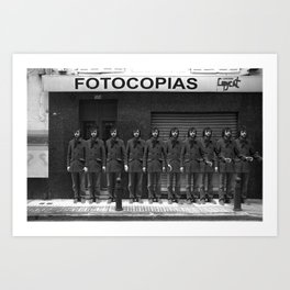 Fotocopias Art Print