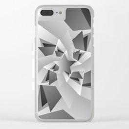 Star Grad Clear iPhone Case