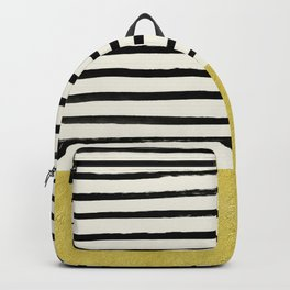 Gold x Stripes Backpack