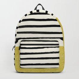 Gold x Stripes Backpack
