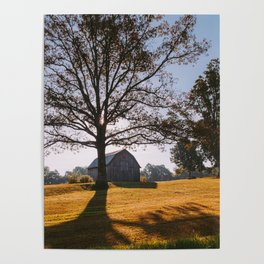 Kentucky Barn Poster