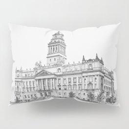 Wayne County Court House | Detroit Michigan Pillow Sham