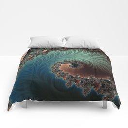 Velvet Crush - Fractal Art Comforters