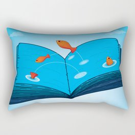 Sea of wisdom Rectangular Pillow