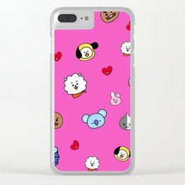 BT21 Clear iPhone Case