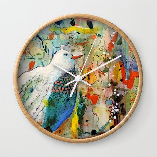 vers toi Wall Clock