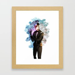 Space Dad Framed Art Print