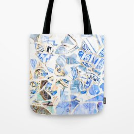 Mosaic of Barcelona XII Tote Bag