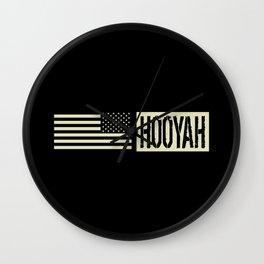 Hooyah Wall Clock