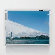Ships Around Alcatraz // San Francisco, California Laptop & iPad Skin